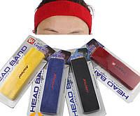 Спортивная повязка на голову в ассортименте