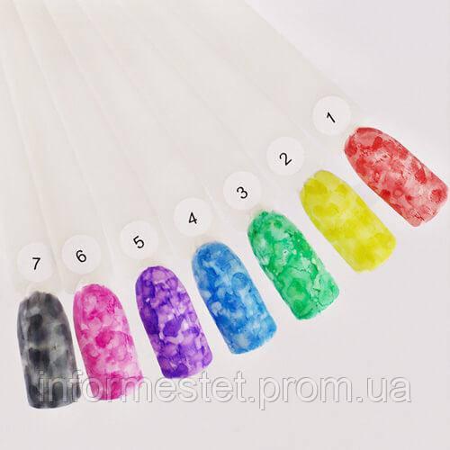 Чернила Yo nails Inks 3, цвет зеленый, 5 мл