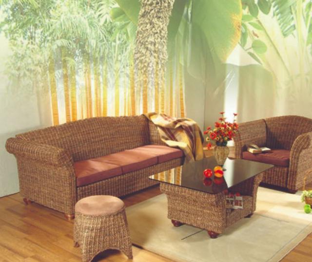 Кресло Вирджиния в комплекте с пелетеной мебелью