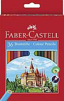Цветные карандаши Faber Castell CLASSIC 120136 (36 цв.+точилка)