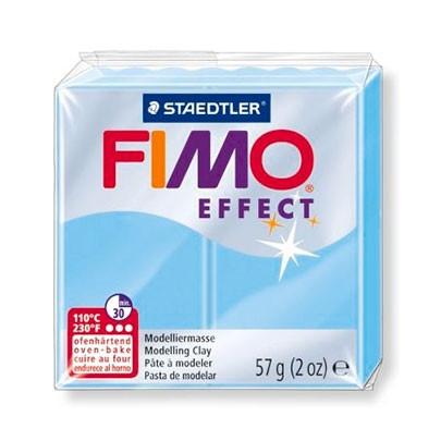 Полимерная глина Фимо Fimo Effect пастельный, Голубая вода №305 - 56гр.