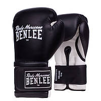 Боксерские перчатки Benlee MADISON DELUXE черно-белые, фото 1