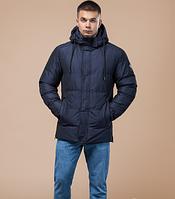 Зимняя молодежная куртка Braggart Youth темно-синяя топ реплика