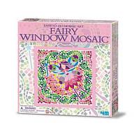 Набір для творчості 4M Мозаїка на вікно (в асортименті (Фея/Русалка/Принцеса) (00-04565)
