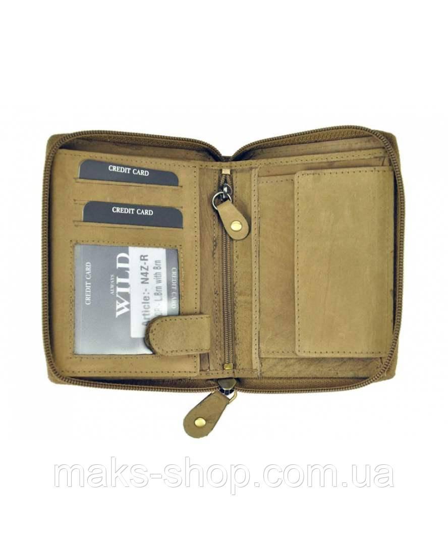 0ef86122ddd9 Светлый вертикальный мужской кожаный кошелек Wild N4Z-R Польша, цена 599  грн., купить в Киеве — Prom.ua (ID#804614282)