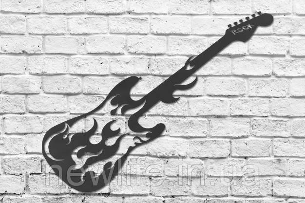 """Декоративные изделия из металла  """"Гитара"""""""