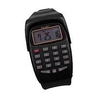 Наручные часы с калькулятором. Светодиодные силиконовые спортивные часы NOYOKERE для детей.