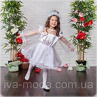 """Новорічний дитячий карнавальний костюм """"Сніжинка"""""""