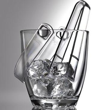 Відро для льоду з щипцями Pasabahce Sylvana арт. 53628