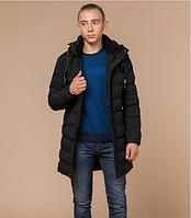 Зимняя молодежная куртка Braggart Youth черного цвета топ реплика