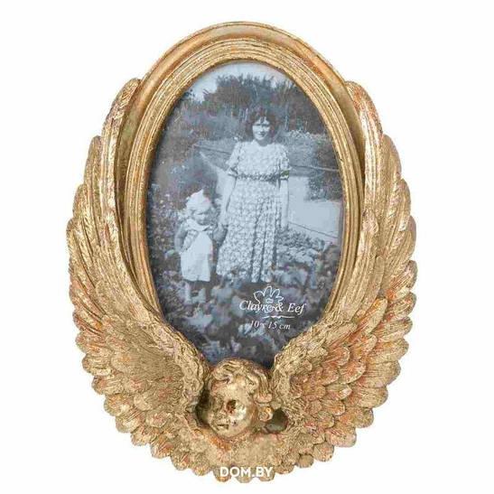 Фоторамка золотая 2F0230-CE 16*3*21 см Clayre & Eef