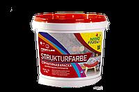Краска структурная Strukturefarbe 7 кг