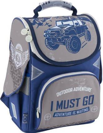 Рюкзак школьный каркасный 5001S-18 GO18-5001S-18 ранец  рюкзак школьный hfytw ranec, фото 2