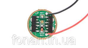 Драйвер 4*AMC7135 (1,4A, 1*Li-Ion) один режим (только максимум)