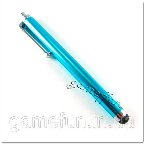 Стилус для PS Vita и мобильных телефонов металический (Premium) Blue
