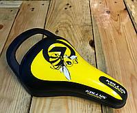 Седло детское KLS WASPER желтое, фото 1
