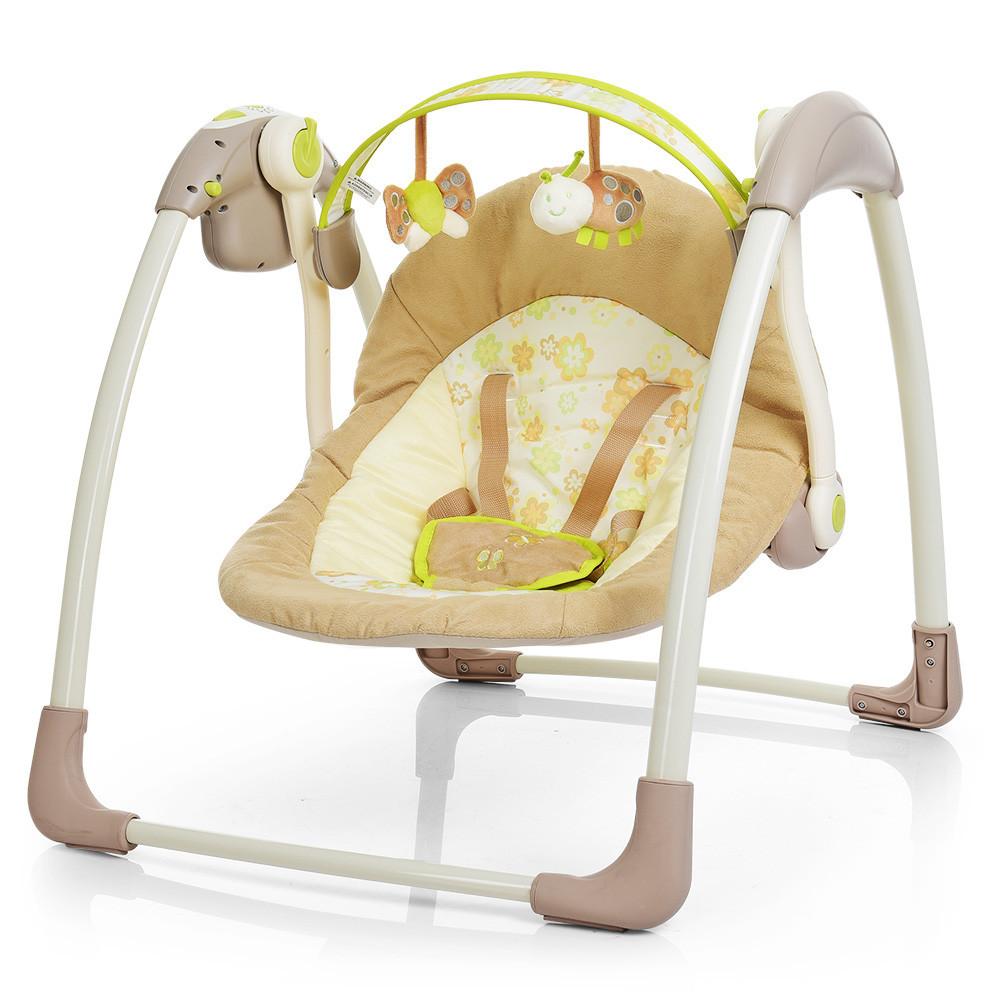 Детская качеля шезлонг для новорожденных 6558
