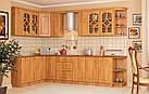 Навісна кутова вiтрина в кухню з МДФ Оля Мебель Сервіс, фото 2