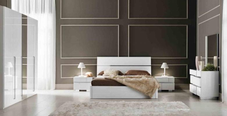 Спальня Caprice White Status вариант 2
