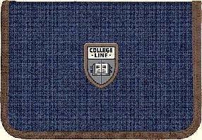 Пенал 1 отд., 1 отв., без наполн. 621 College line 10  ранец  рюкзак школьный hfytw ranec