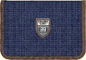Пенал 1 отд., 1 отв., без наполн. 621 College line 10  ранец  рюкзак школьный hfytw ranec, фото 2