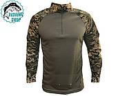 Тактическая рубашка убокс (светлый пиксель)