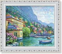Репродукция  современной картины Говарда Беренса (США)   «Европейское средиземноморье» 30 х 25 см