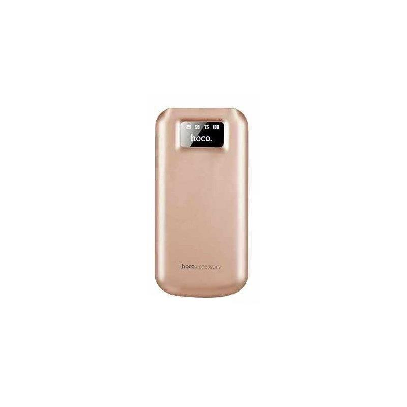 Внешний аккумулятор Hoco B26 Power Bank 10000 mAh Rose Gold
