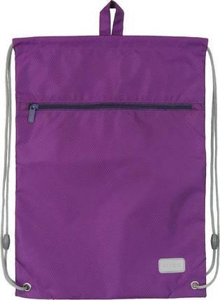 Сумка для обуви с карманом Kite Education 601M-32 Smart.Фиол K19-601M-32 ранец  рюкзак школьный hfytw ranec, фото 2