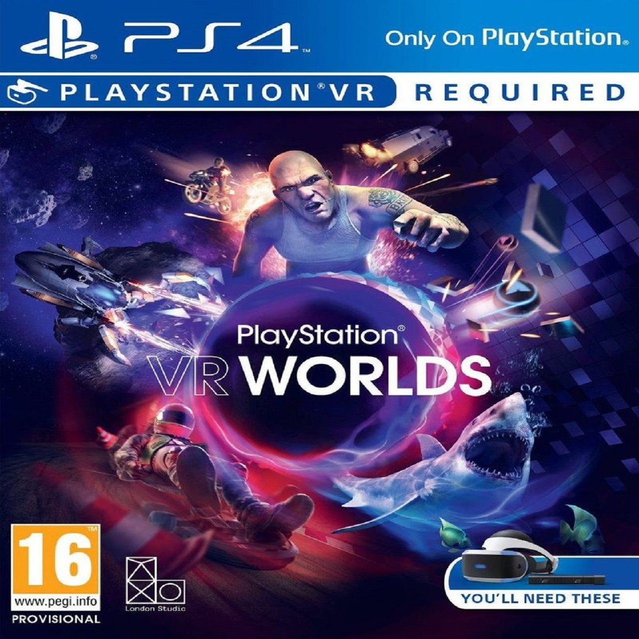 Playstation VR Worlds RUS PS4 (NEW)