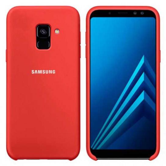 Оригинальный силиконовый чехол для Samsung J600F Galaxy J6 (2018)