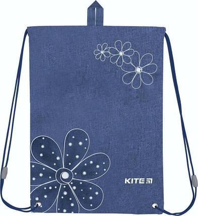 Сумка для обуви Kite Education 600S-7 Flowery K19-600S-7 ранец  рюкзак школьный hfytw ranec, фото 2