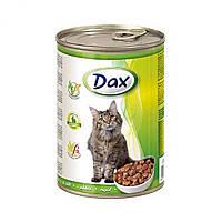 Консерва для кошек Dax кролик 415г Дакс