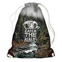 Рюкзак мешок 33х45см Catch the moment