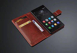 Чехол Idewei для Lenovo Vibe Shot Z90 / Z90-7 книжка кожа PU коричневый