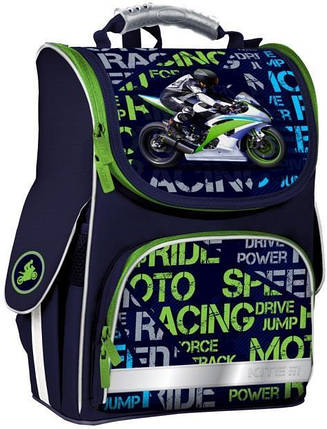 Рюкзак школьный каркасный Kite Education 501-12 Racing K19-501S-12 ранец  рюкзак школьный hfytw ranec, фото 2