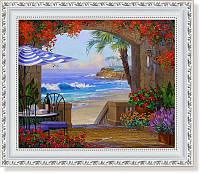 Репродукция  современной картины  «Бесконечный день»