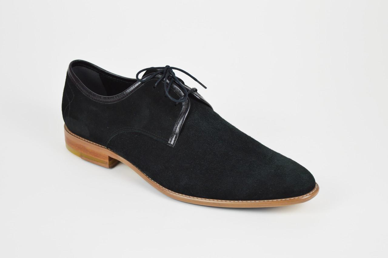 Замшевые мужские туфли Conhpol 2525