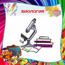 Биология, стенды для кабинета биологии