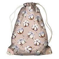Рюкзак мешок 33х45см розовый хлопок