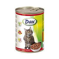 Консерва для кошек Dax говядина 415г Дакс