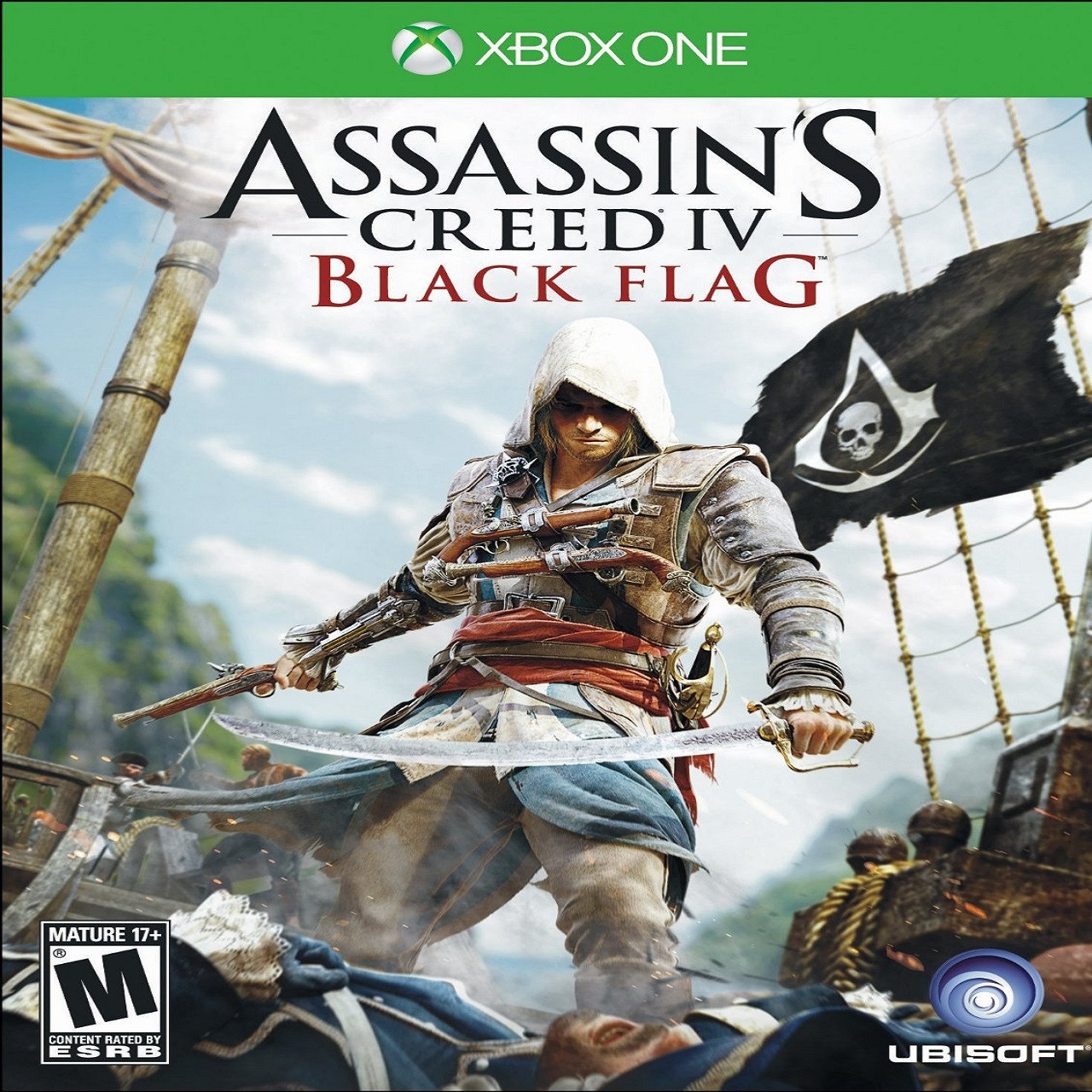 Assassin's Creed: Black Flag RUS PS4 (Б/В)