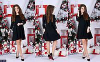 Стильное платье с пуговками на рукавах, фото 1