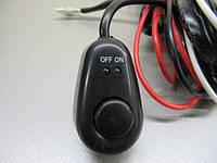 Проводка с реле 40А и кнопкой для дополнительных фар 12В. https://gv-auto.com.ua, фото 1