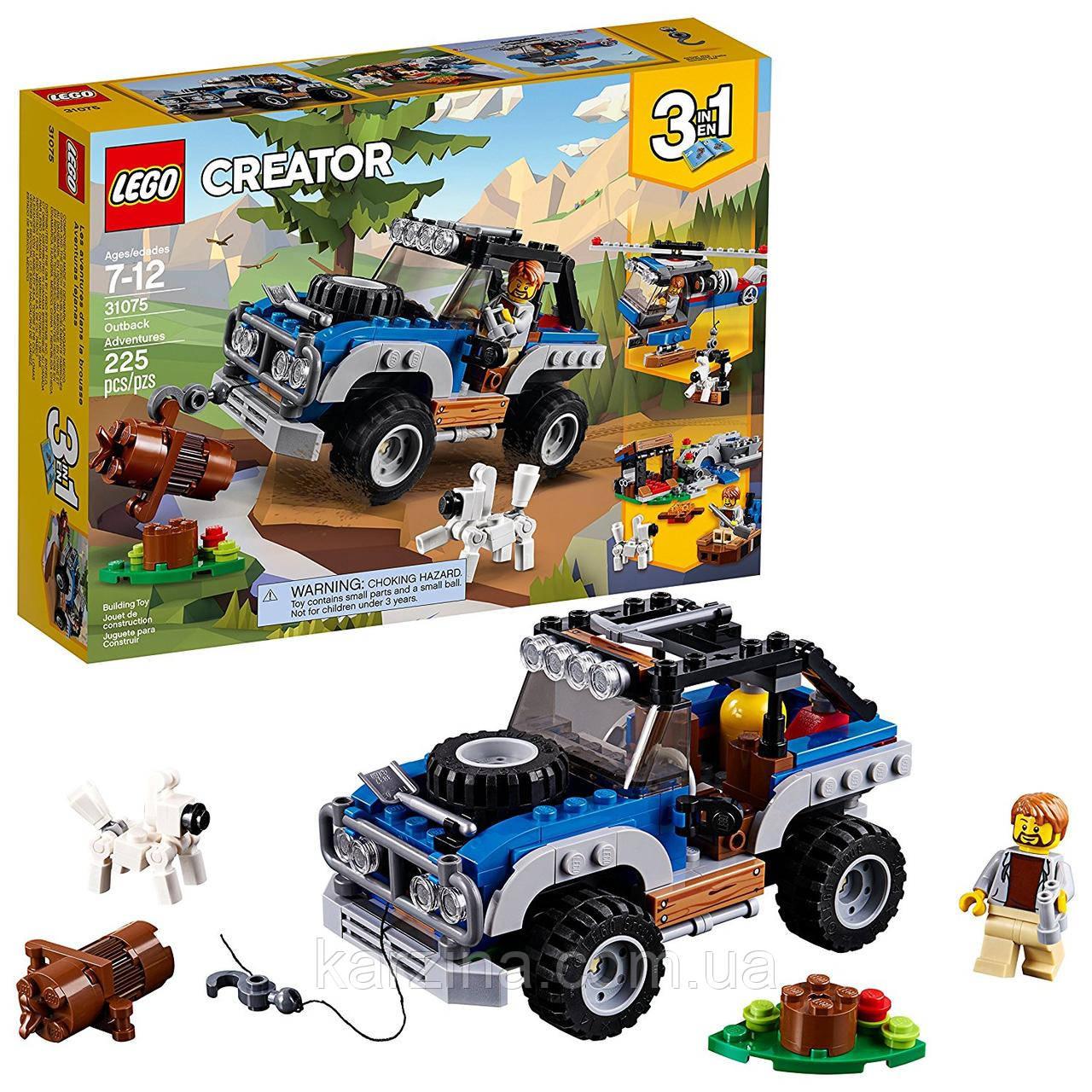 Конструктор LEGO Creator 3in1 31075