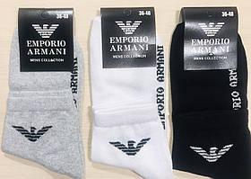 Носки демисезонные хлопок EMPORIO&ARMANI Турция размер 36-40 ассорти