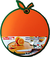 "Доска разделочная ""Апельсин"" оранжевая"