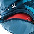 Рюкзак жіночий туристичний Osprey Aura AG 65 Gamma Red WS, 65 л, червоний, фото 7