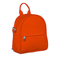 Мини-рюкзак 17х20х7см, морковный