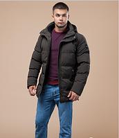 Куртка зимняя молодежная Braggart Youth цвета кофе топ реплика